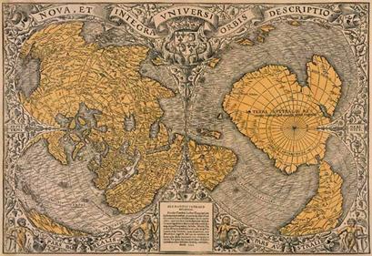 Jerusalem Center Of The World Map.The Catastrophic Destruction And Restoration Of Pangea