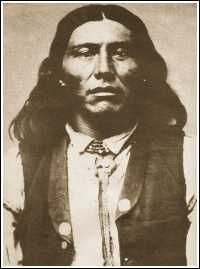 Naiche aka Natchez, youngest son of Cochise and last hereditary chief of the Chiricahua Apaches